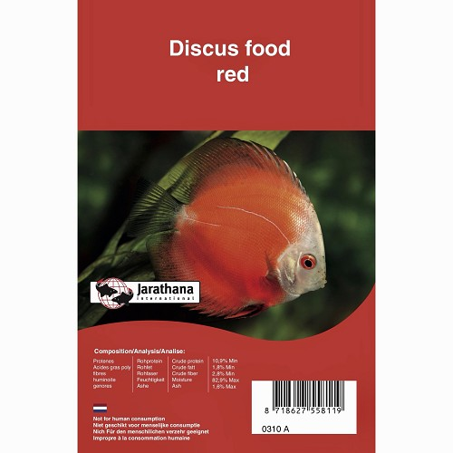 Discus red frozen in blister pack