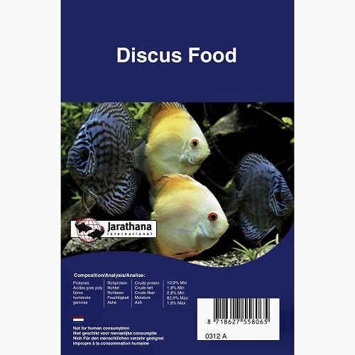 Diskus food frozen in blister pack